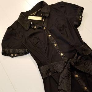 GUESS JEANS Button-up Shirt Dress